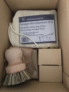 paquete sin plástico
